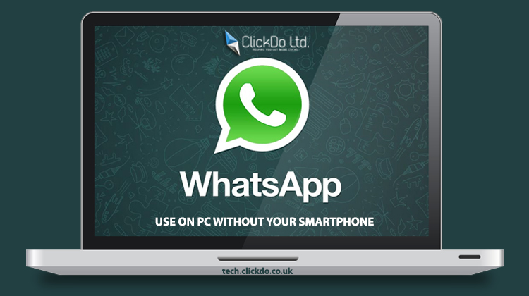 Use WhatsApp on PC Without Smartphone