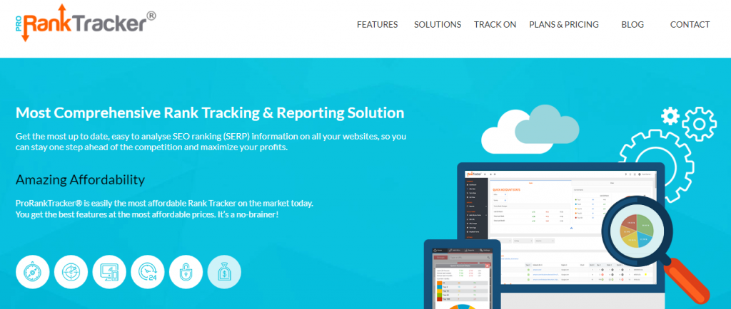 pro rank tracker - seo rank tracking tool