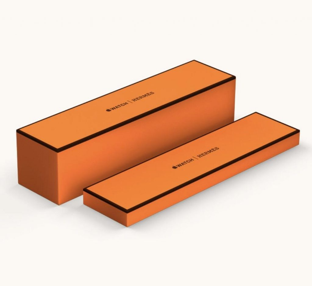 Box - Apple Watch Hermès Series 4
