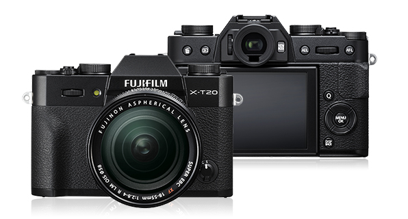 Fujifilm X-T20 - Best Travel Camera 2018