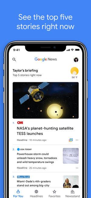 Google News Android App