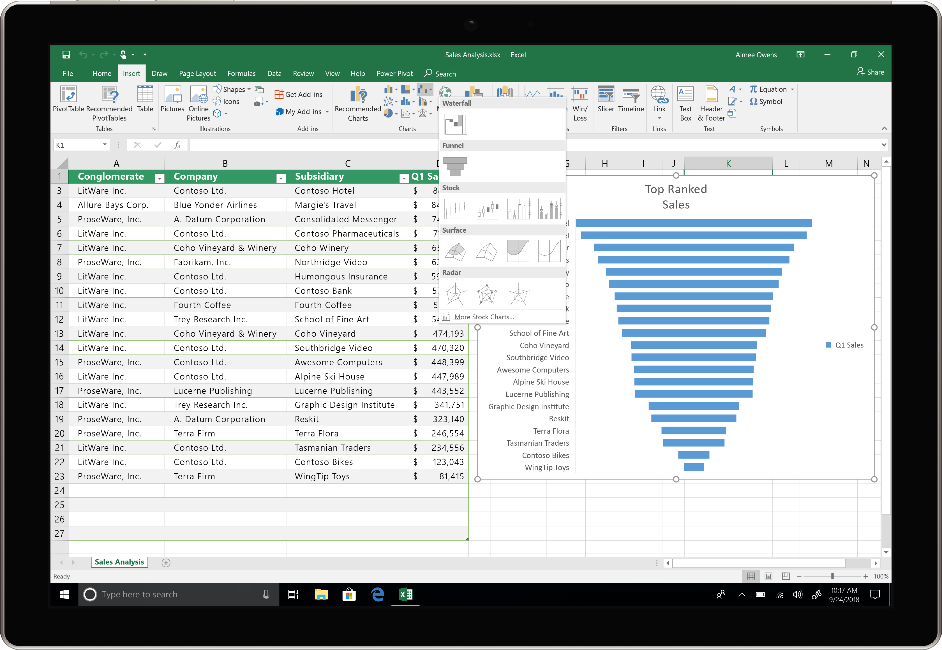 Microsoft Office 2019 Update - Excel