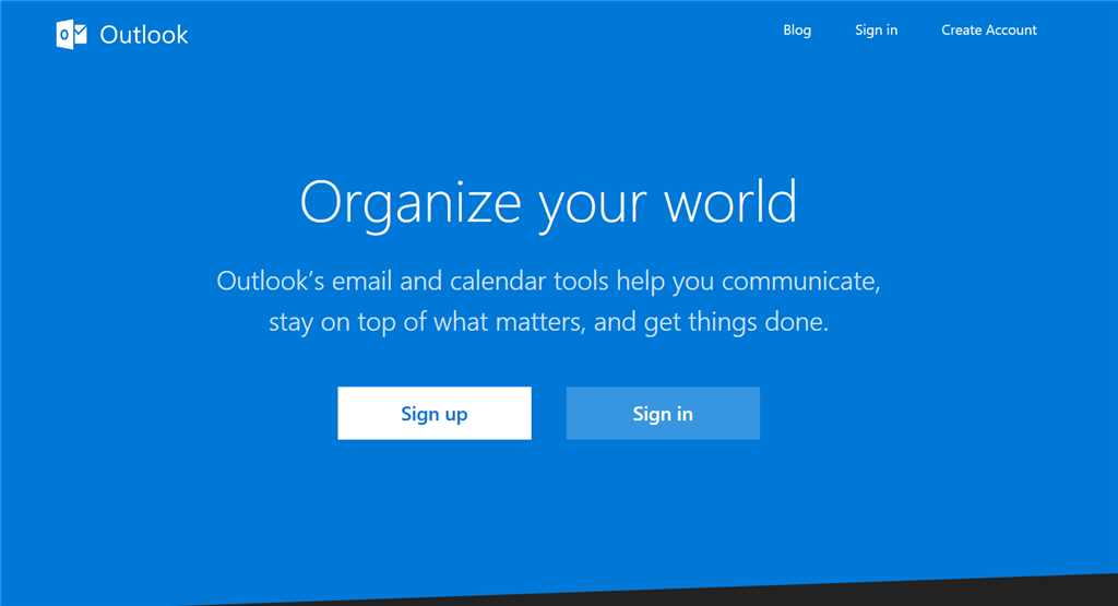 Microsoft Outlook - Best Gmail Alternative
