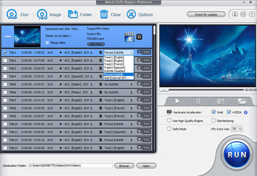convert dvd to mp4 video