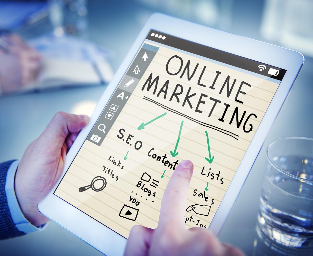 online presence using digital marketing