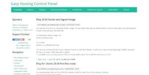 Easy Hosting Control Panel